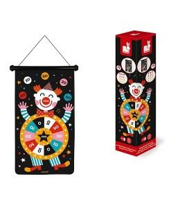 Janod Magnetic Dart Game - Circus