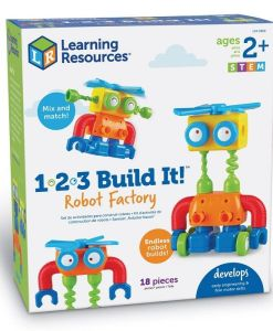 1-2-3 Build It!™ Robot Factory