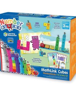 MathLink Cubes Numberblocks 1-10 Activity Set
