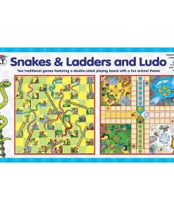Animal Snakes & Ladders and Ludo