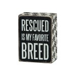 Rescue Pet Sign