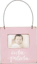 Pink Baby Photo Frame | Gifts from the South