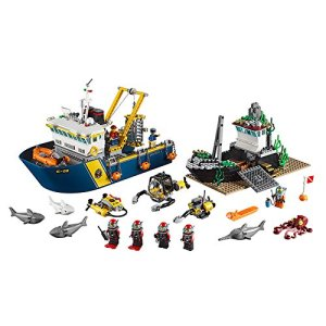 Lego City Explorers Deep Sea Exploration Vessel Unboxed
