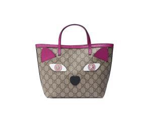 Gucci children's cat tote bag