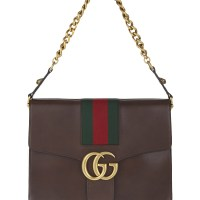 Gucci GG Marmont Leather Shoulder Bag at Selfridges