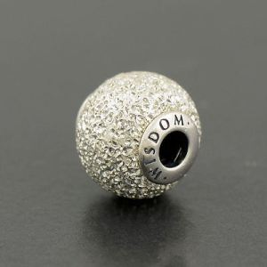 ESSENCE Wisdom Charm in sterling silver at Pandora
