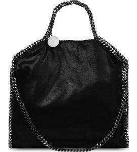 Stella McCartney Falabella Faux Suede Shoulder Bag