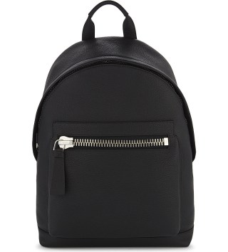 Tom Ford Buckly Leather Backpack