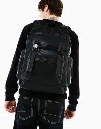 Multi-pocket backpack at Bershka