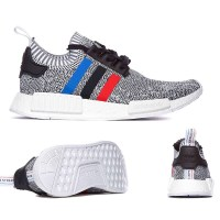 Adidas Originals NMD R1 Primeknit 'Tri-Colour' Trainer at Footasylum