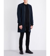 MCQ ALEXANDER MCQUEEN - Longline wool coat at Selfridges