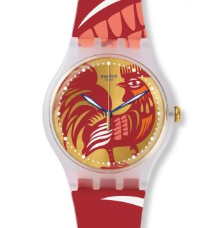 Rocking Rooster watch by Swatch