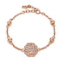 SANTORINI FLOWER BRACELET Rose Gold Plated at Folli Follie