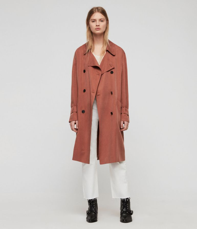 Brooke Trench Coat at All Saints