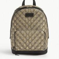 GUCCI Bee-print backpack