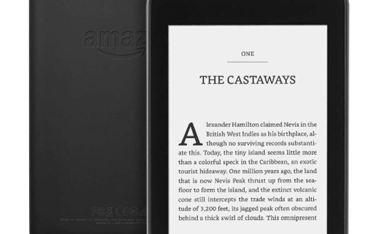Kindle Paperwhite Waterproof at Amazon