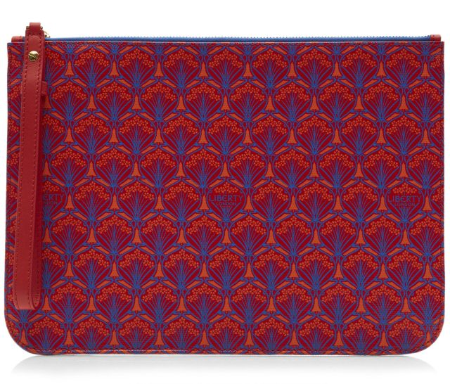 LIBERTY LONDON Iphis Canvas Clutch