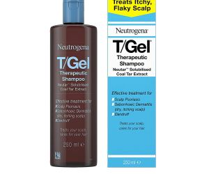 Neutrogena T-Gel Therapeutic shampoo at Amazon