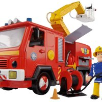 Simba Fireman Sam Jupiter Vehicle with Figure