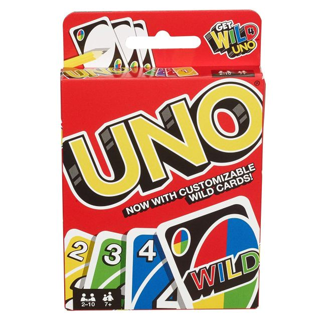 Uno Cards at Amazon
