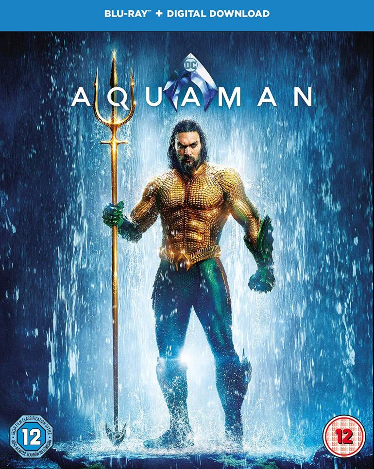 Aquaman on Blue-ray at Amazon