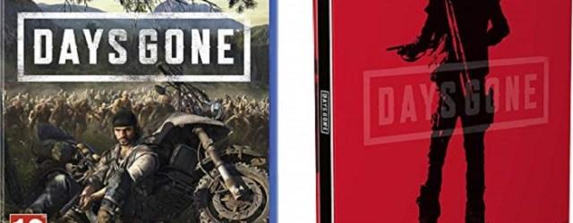 Days Gone with Limited Edition SteelBook on PS4 at Amazon