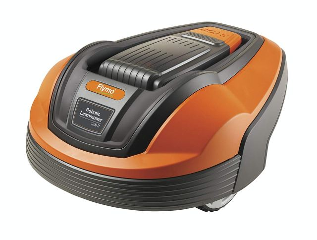 Flymo 1200R Lithium-Ion Robotic Lawn Mower at Amazon