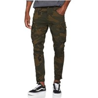 Jack & Jones Men's Jjipaul Jjchop Ww Camo STS Trouser at Amazon
