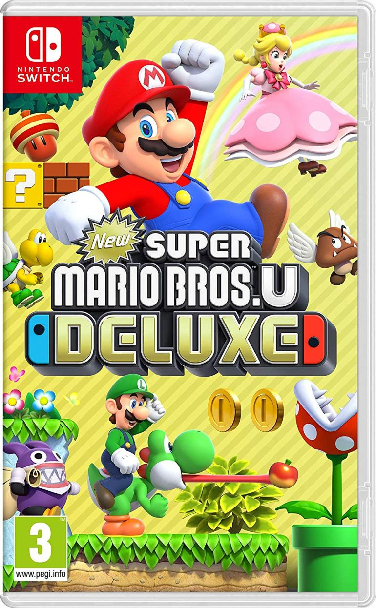 New Super Mario Bros. U Deluxe Nintendo Switch at Amazon