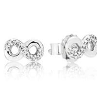 Pandora Women Silver Stud Earrings