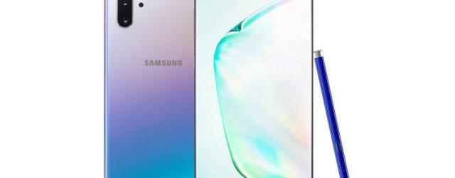 Samsung Galaxy Note 10+ smartphone