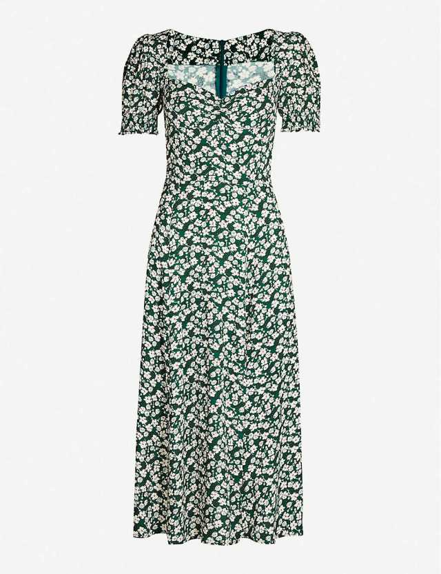Designer dresses at Selfridges Reformation midi dress