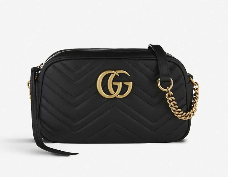Gucci Marmont small leather shoulder bag
