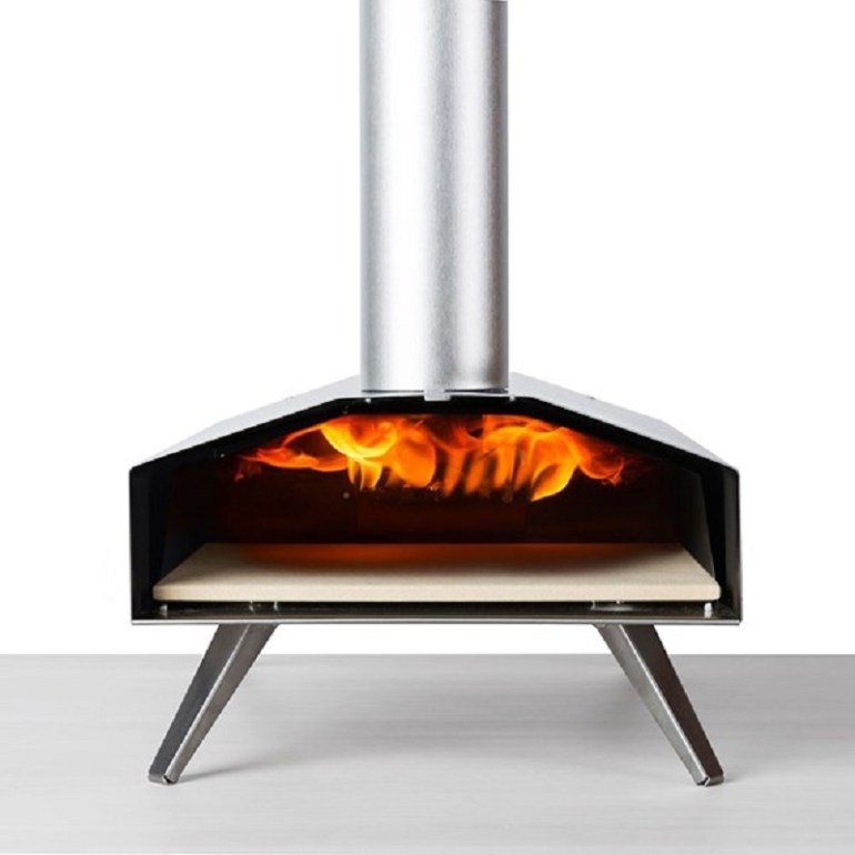 Ooni 3 Pizza Oven with Stone Baking Board front