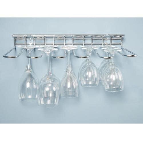 ckb ltd cupboard or wall mounted wine glass rack 42 x 7 x 32 cm