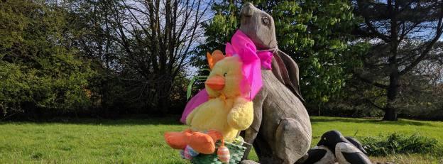 Arreton Hare, Arreton Cross