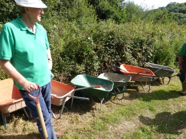Barrows galore, IW Green Gym volunteers, August 2016
