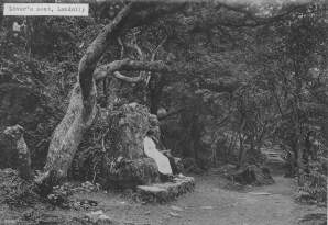On the Wishing Seat: The Landslip, c.1900