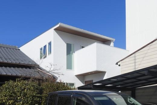 岐阜市施工例 光と風を感じる間口5mの家