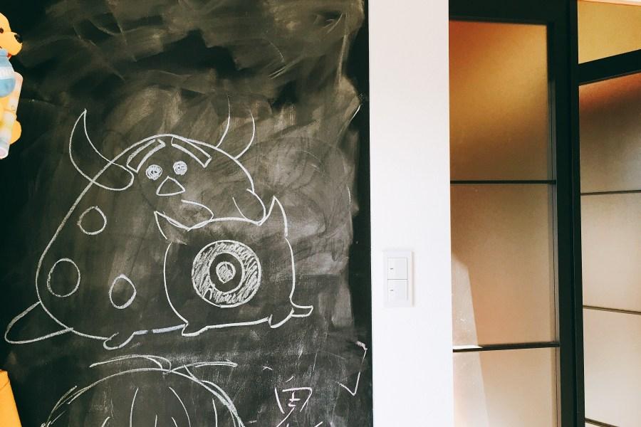 黒板の落書き