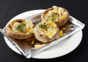岐阜県産特大椎茸のチーズ焼き