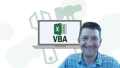 Master Microsoft Excel Macros and Excel VBA