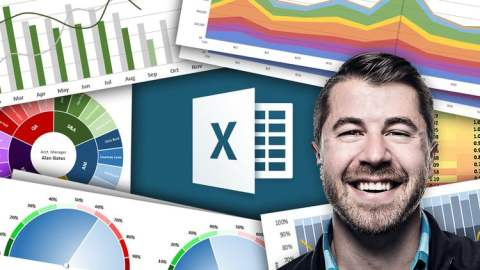 Microsoft Excel: Data Visualization w/ Excel Charts & Graphs