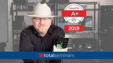 TOTAL: CompTIA A+ Certification (220-1001).