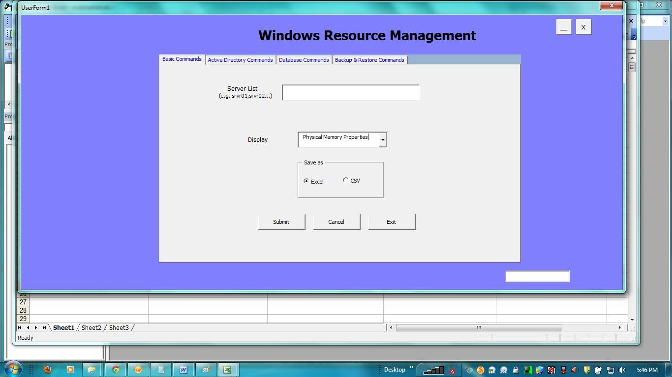 Excel Vba Hide Form Button
