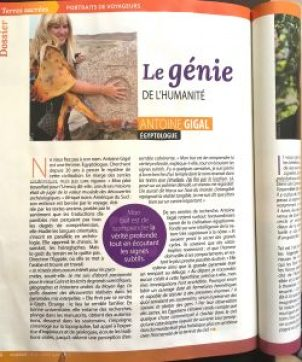 Antoine Gigal press French article