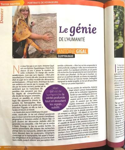 Antoine Gigal presse
