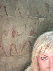 Gigal in the mastaba of Ti in Sakkara