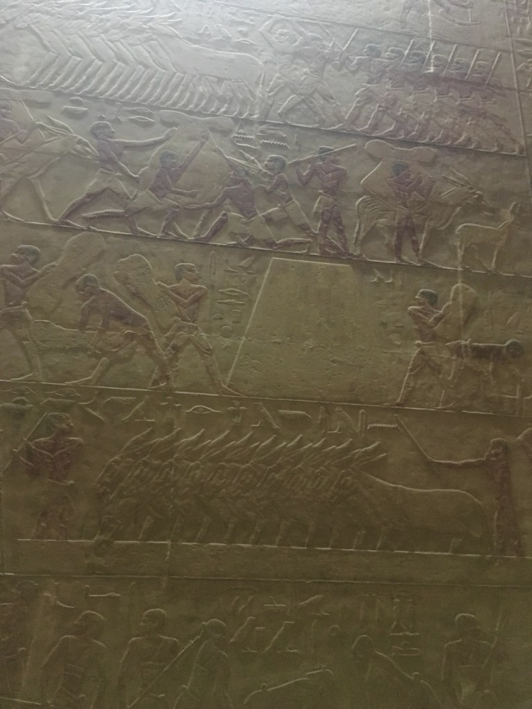Mastaba of Ti in Sakkara, the boats by Gigal