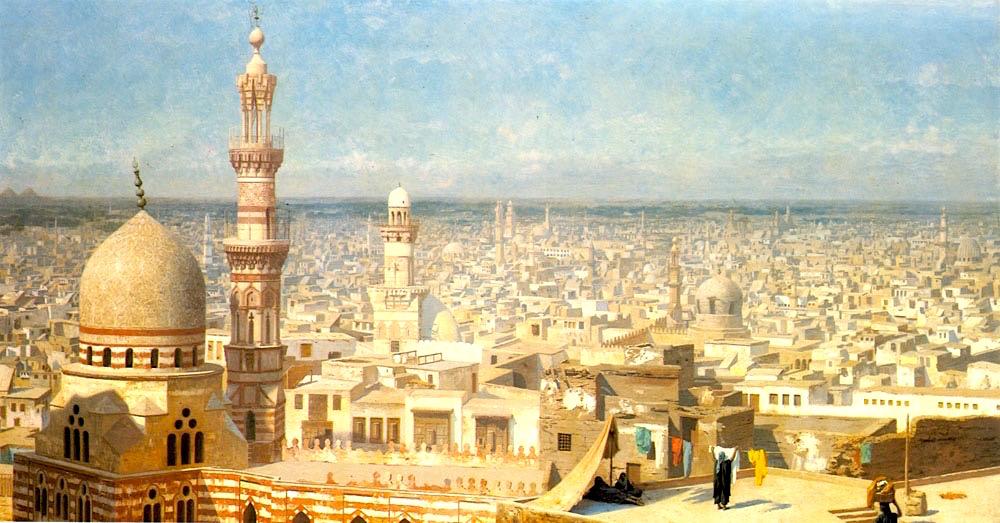 Cairo in Napoleon time